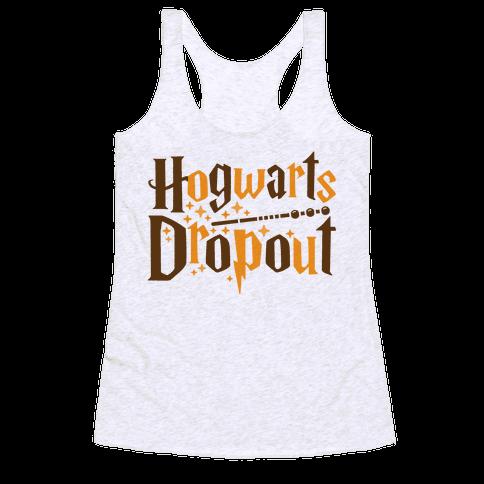 Hogwarts Dropout Racerback Tank Top