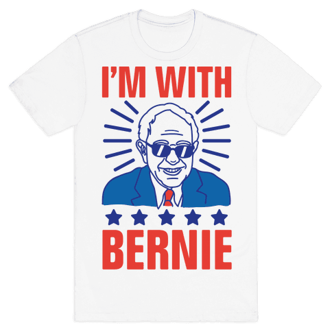I'm With Bernie Mens T-Shirt