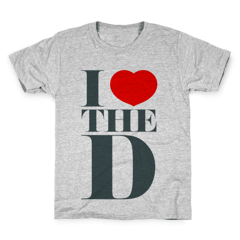 I Love the D Kids T-Shirt