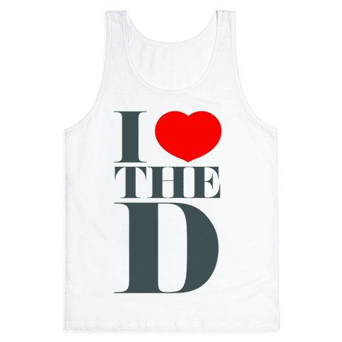I Love the D Tank Top