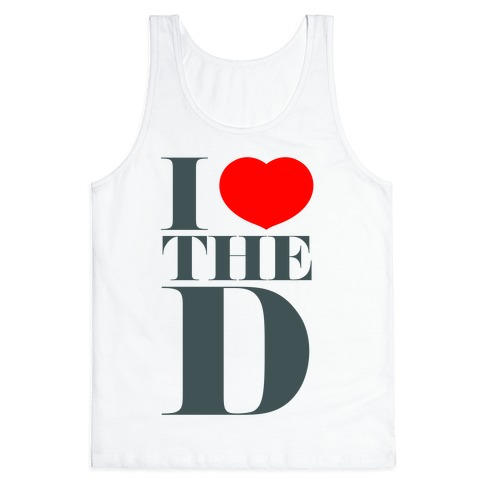 I Love the D Tank Top