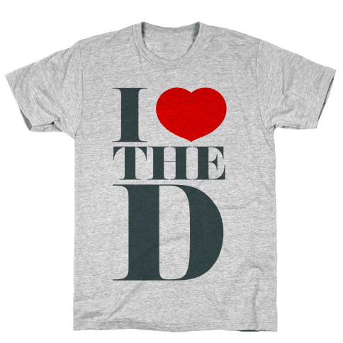 I Love the D Mens T-Shirt