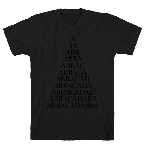 ABRACADABRA! Mens T-Shirt