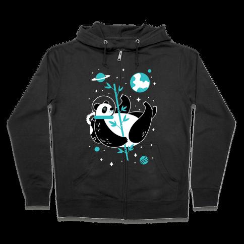 Space Panda Zip Hoodie