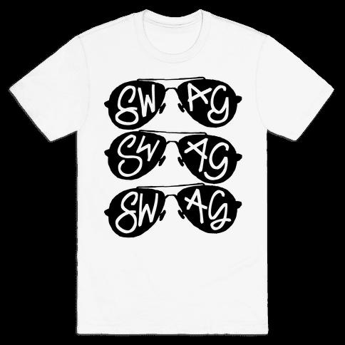 Swag Glasses Mens T-Shirt