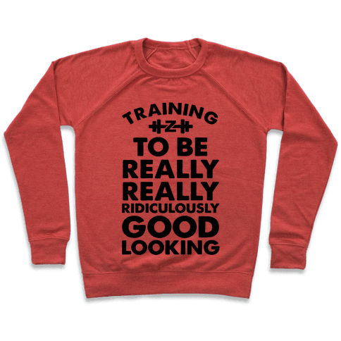 Training to be Really, Really, Ridiculously Good Looking Pullover