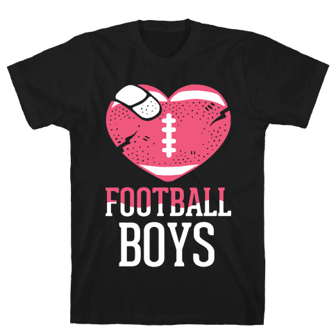 Football Boys Mens T-Shirt
