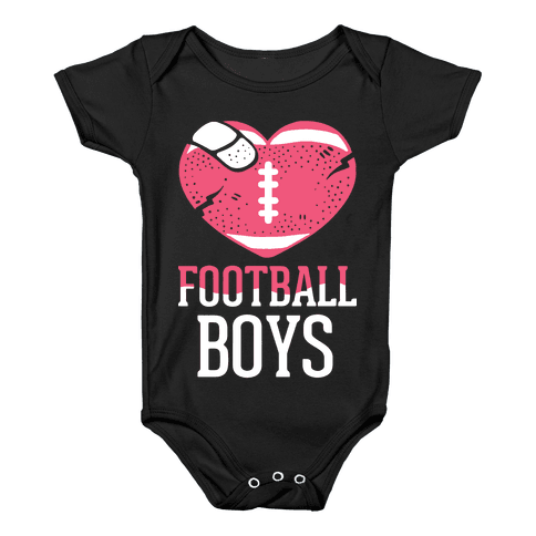 Football Boys Baby Onesy