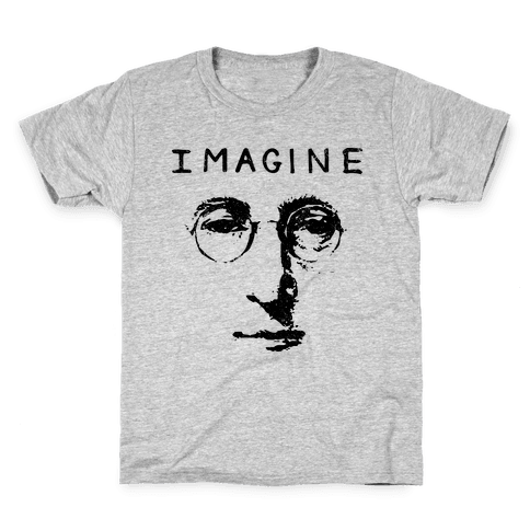 Imagine (Vintage Shirt) Kids T-Shirt