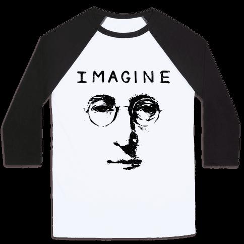 Imagine (Vintage Shirt) Baseball Tee