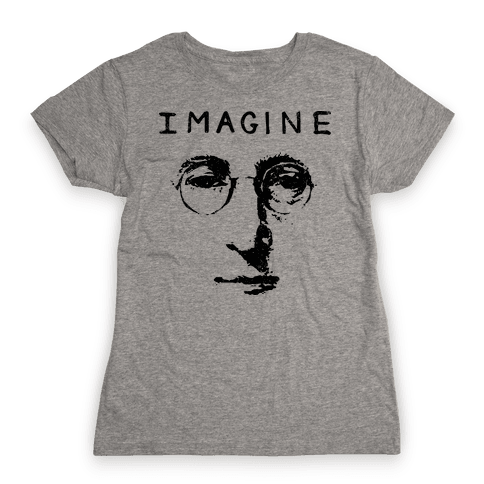 Imagine (Vintage Shirt) Womens T-Shirt
