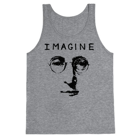 Imagine (Vintage Shirt) Tank Top