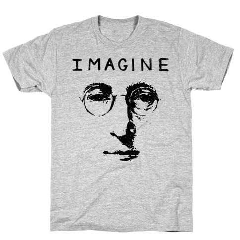 Imagine (Vintage Shirt) T-Shirt