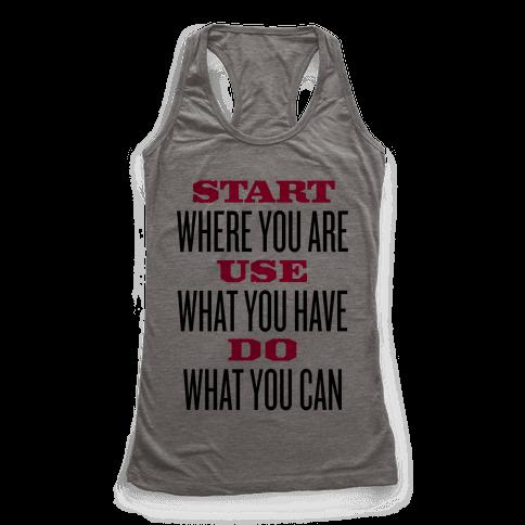 Start, Use, Do