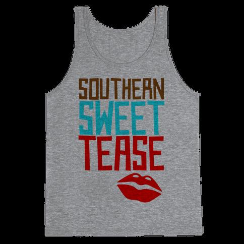 Southern Sweet Tease Tank Top