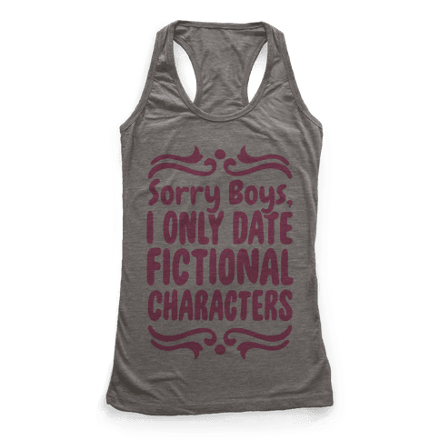 Fictional Boys Racerback Tank Top