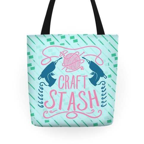 Craft Stash Tote