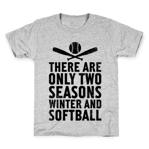 There Are Only Two Seasons (Vintage) Kids T-Shirt