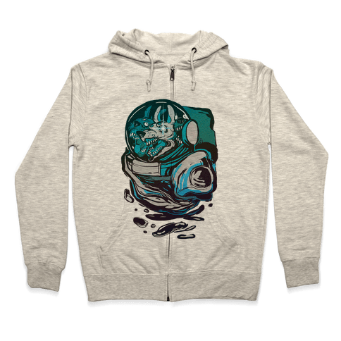 Space Madness Zip Hoodie