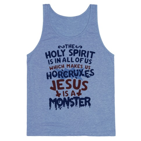 Holy Spirit Horcruxes Tank Top