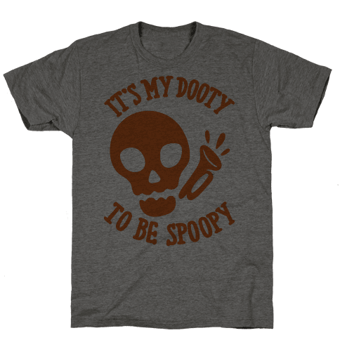 It's My Dooty To Be Spoopy Mens T-Shirt