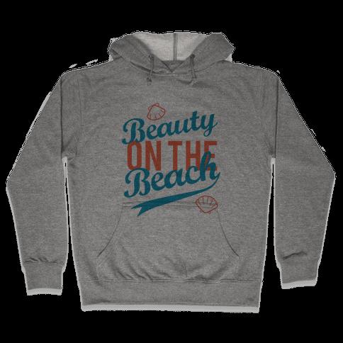 Beauty On The Beach (Tank) Hooded Sweatshirt