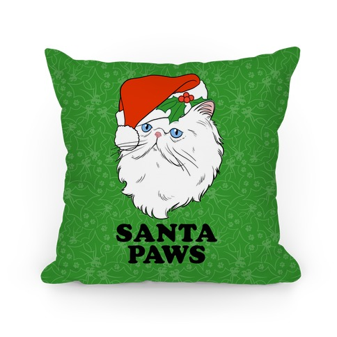 Santa Paws Pillow