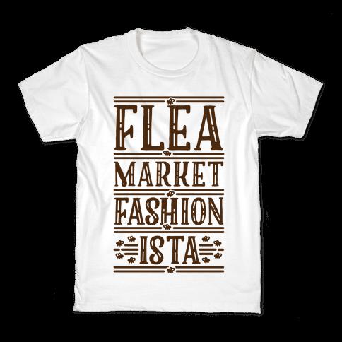 Flea Market Fashionista Kids T-Shirt