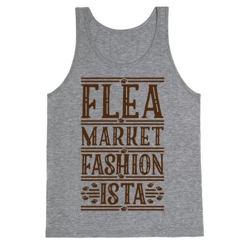 Flea Market Fashionista Tank Top