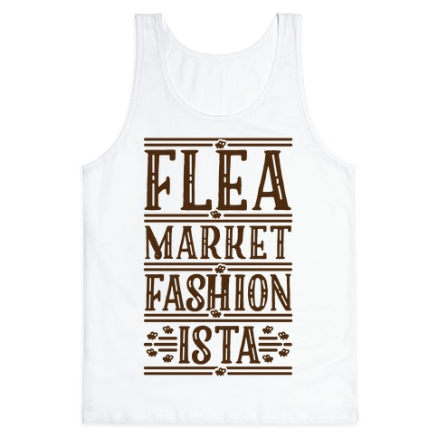 Flea Market Fashionista Tank Top