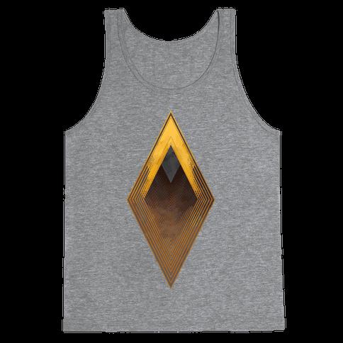 Golden Diamond Tank Top