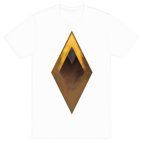 Golden Diamond Mens T-Shirt