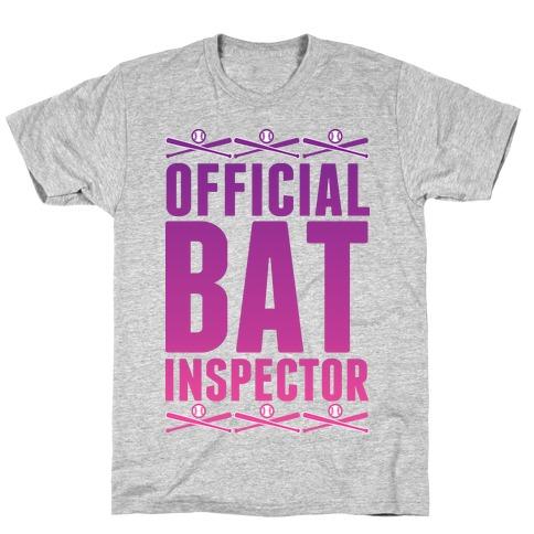 Official Bat Inspector T-Shirt