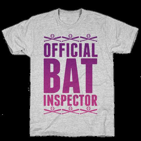 Official Bat Inspector  Mens T-Shirt