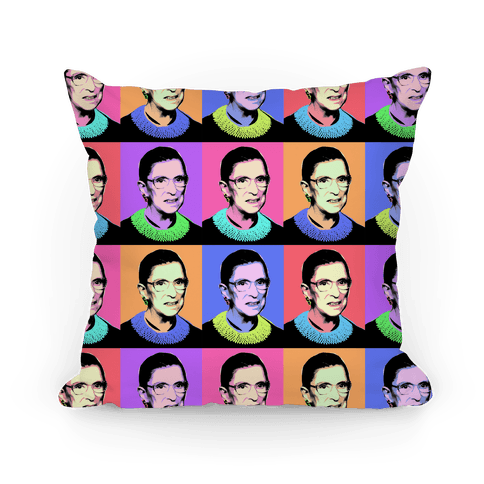 RBG Pop Art Pillow