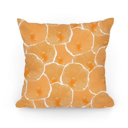 Yellow Poppy Flower Pattern