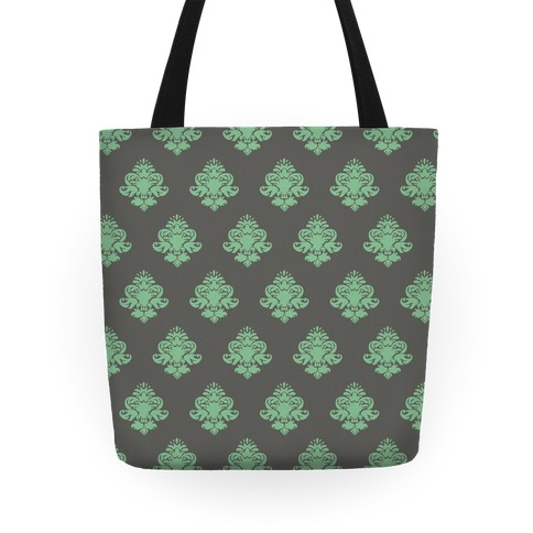 Classy Mint and Gray Tote Tote