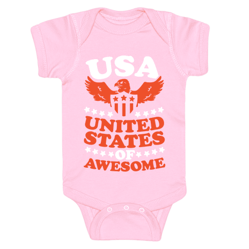 United States of Awesome Baby Onesy