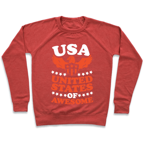 United States of Awesome Pullover
