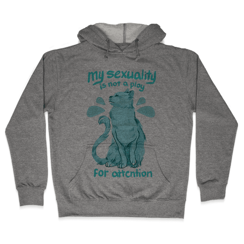 Not A Ploy For Attention Hooded Sweatshirt