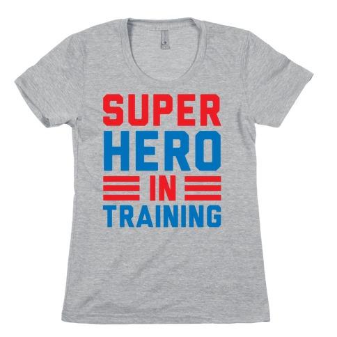 SuperHero In Training Womens T-Shirt