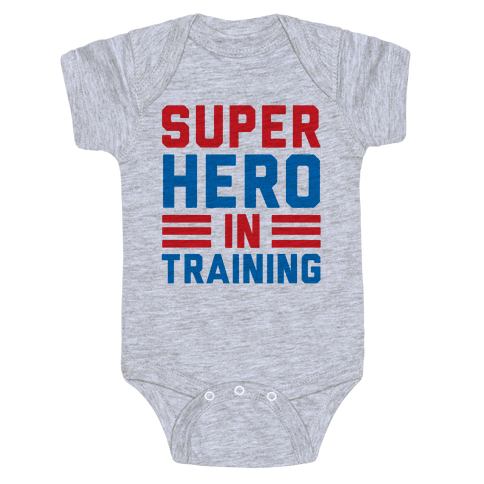 SuperHero In Training Baby Onesy