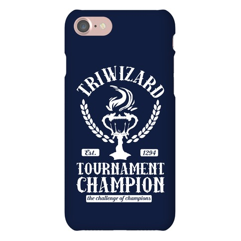 Triwizard Tournament Champion Phone Case