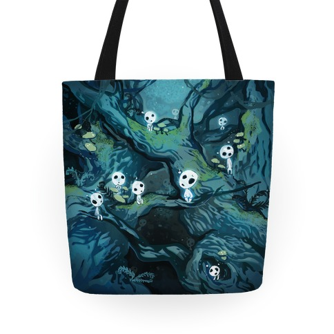 Princess Mononoke Forest Spirit Tote