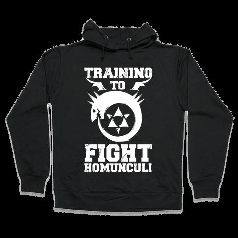 Training to Fight Homunculi Hooded Sweatshirt