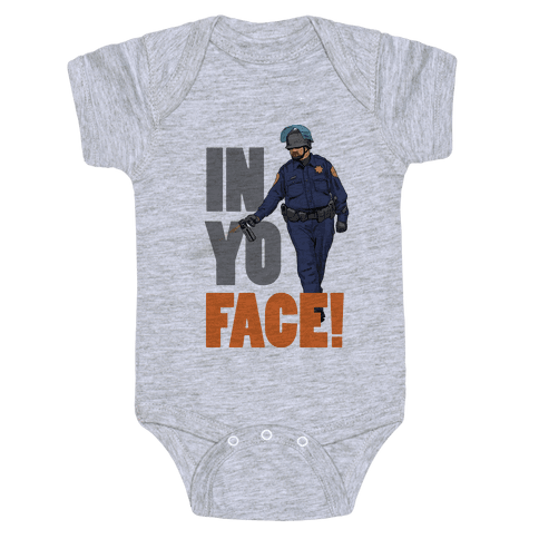 Officer John Pike In yo face! Baby Onesy