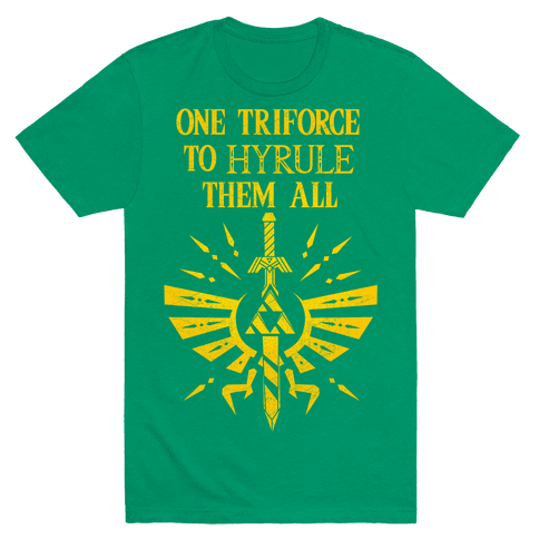 One Triforce To Hyrule Them All