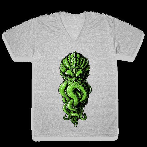 Cthulhu V-Neck Tee Shirt