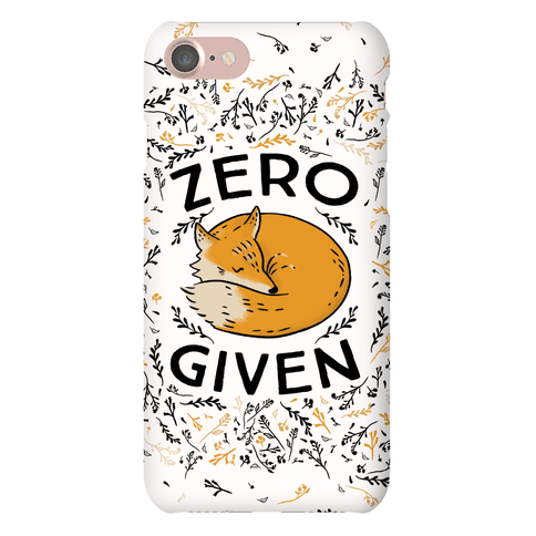 Zero Fox Given Phone Case