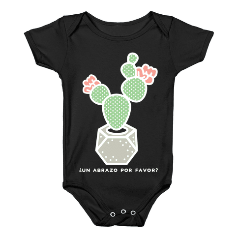 Cactus Hugs Baby Onesy